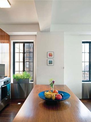 现代多功能区住宅欣赏餐厅窗户