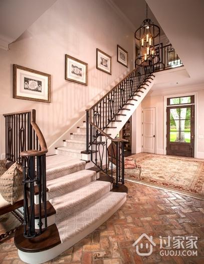 欧式效果图大全楼梯间设计