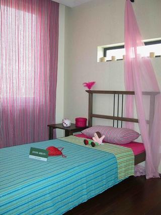 东南亚复式儿童房效果