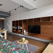 现代风格小户型效果图客厅