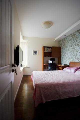 98平东南亚温馨住宅欣赏卧室效果