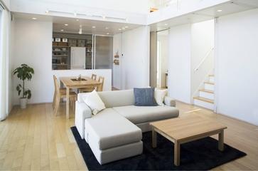 日式清爽复式楼欣赏客厅效果图