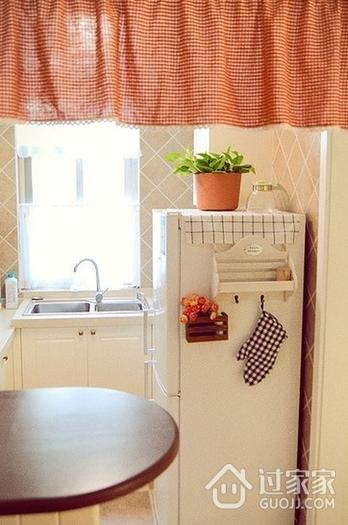 62平简约小两居住宅欣赏厨房橱柜