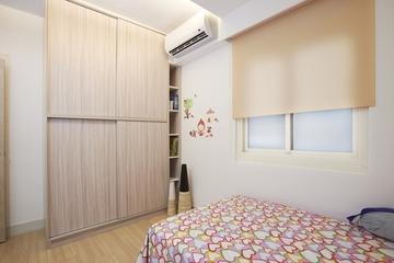 72平简约小三居欣赏儿童房设计