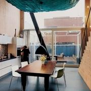 探寻材质本身质感的现代风格餐厅