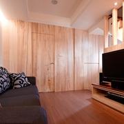 124平日式风格住宅欣赏客厅局部