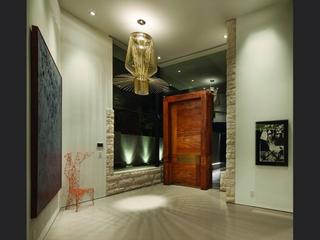 现代奢华别墅设计入户厅