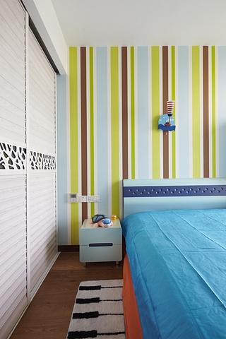 111平简约三室两厅欣赏儿童房