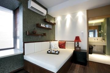东南亚风格样板房欣赏卧室