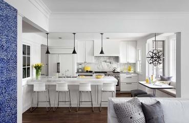 白色北欧风住宅欣赏厨房