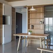 日式淡雅住宅欣赏餐厅设计图