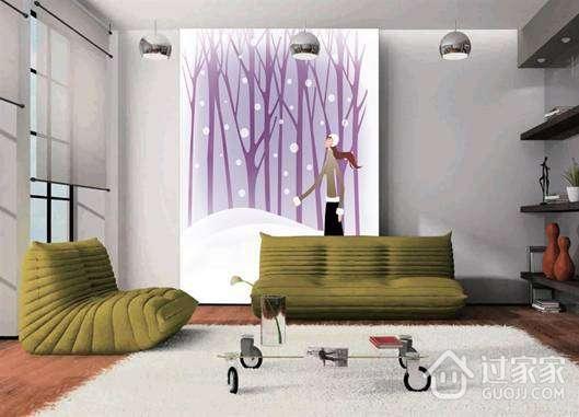客厅背景墙设计与搭配技巧