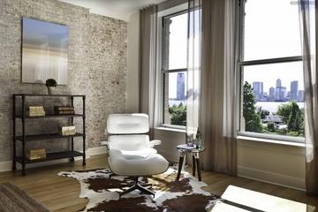 美式优雅三居室欣赏书房书架