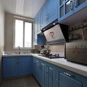 混搭之风80平小户型厨房