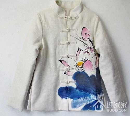 丙烯颜料的用途之二:手绘衣服