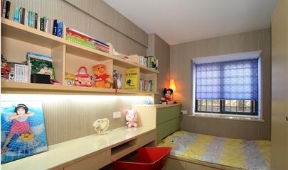 72平简约温馨两居室欣赏儿童房
