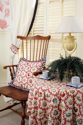 美式乡村休闲桌椅