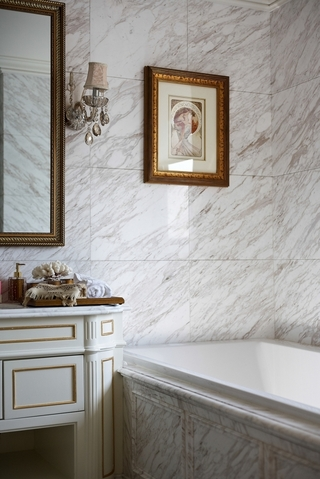 法式奢华住宅欣赏卫生间