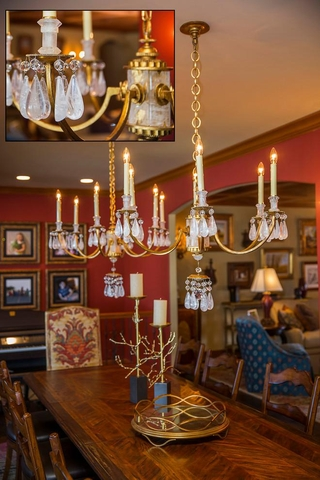 美式别墅装饰欣赏餐厅效果图