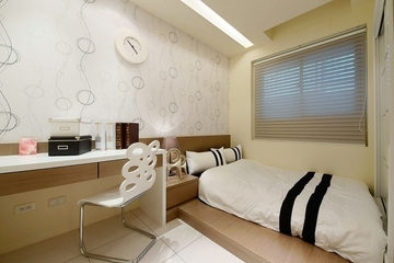 75平简约两居室欣赏儿童房