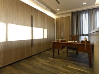日式自然朴素住宅欣赏书房
