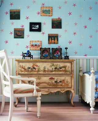 田园乡村风格案例欣赏儿童房设计
