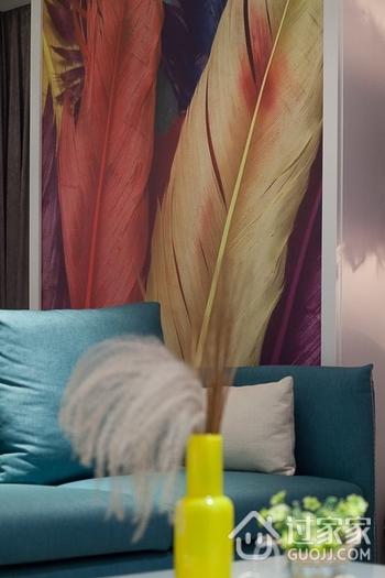 简约三室两厅欣赏客厅局部设计