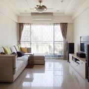 82平简约时尚家居欣赏客厅设计