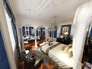 法式贵气样板间欣赏卧室效果