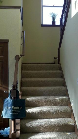 简约风格别墅效果图楼梯