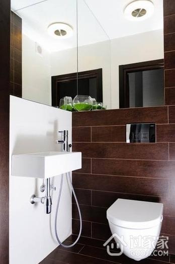 110平紫色的美居欣赏卫生间设计