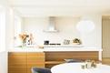 120平米优雅极简公寓欣赏厨房设计