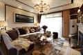 欧式风格样板房客厅