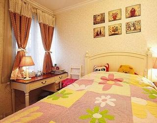 79平田园风格住宅欣赏儿童房