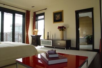 传统中式风卧室背景墙效果图