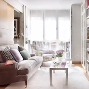 紧凑40平单身公寓欣赏客厅