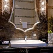 新古典住宅卫生间台面