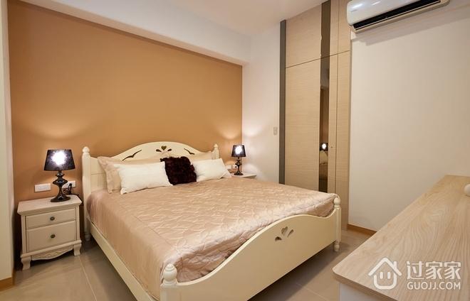 66平简约温馨住宅欣赏卧室设计