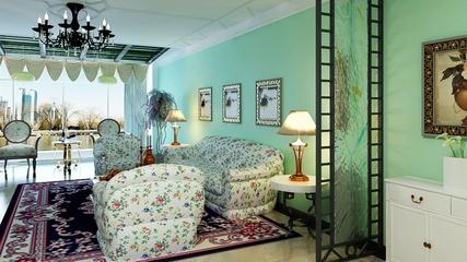 淡雅现代风住宅欣赏客厅灯饰