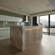 现代风三居室设计欣赏厨房橱柜