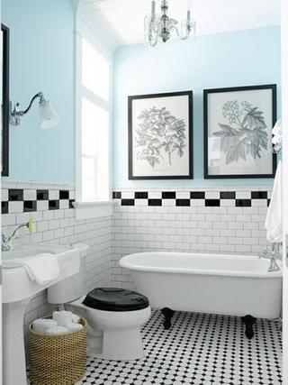 72平简约时尚两居室欣赏卫生间
