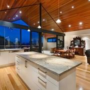 现代风格住宅效果欣赏厨房背景墙