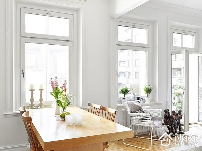 75平平阳光透明两居室欣赏