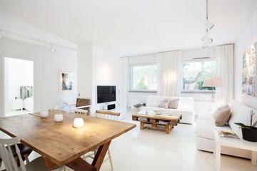 白色温馨宜家住宅欣赏