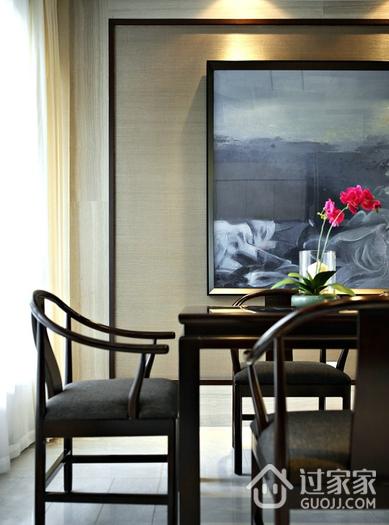 新中式餐厅餐桌效果图 尽显贵族气息