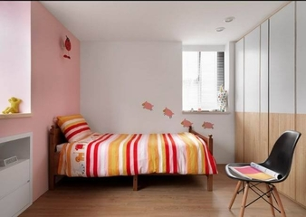简约温馨三居室欣赏儿童房
