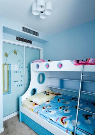 89平清爽欧式三居室欣赏儿童房