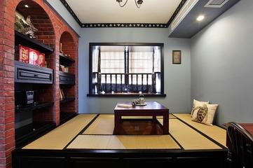 混搭风格有机住宅欣赏茶室效果