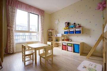 95平清爽日式欣赏儿童房设计
