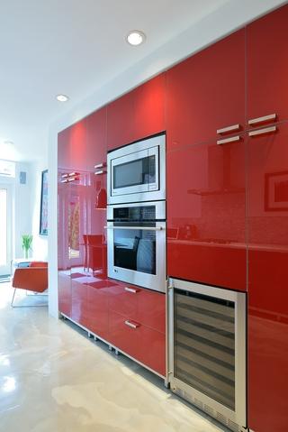 现代时尚风格装饰效果图背景墙